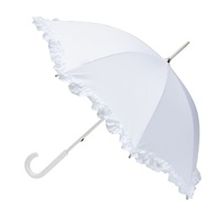 Bridal Wedding Parasol Umbrella White
