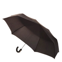 Men's Automatic Mini Maxi Umbrella Black