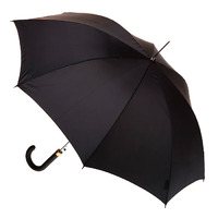 Men's Automatic Umbrella with Leatherette Handle