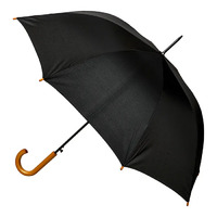 Men's Automatic Umbrella with Wood Handle