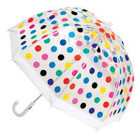 Children's Clear Birdcage Umbrella Spots