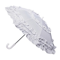 Children's Fleur Umbrella White
