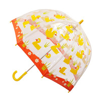 Children's Clear Umbrella Ducks