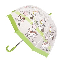Children's Clear Umbrella Farmyard