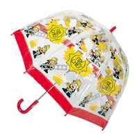 Children's Clear Umbrella Fireman