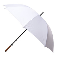 Large Wedding Umbrella White - 5 Pack