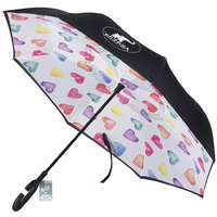 Children's Inside Out Inverted Umbrella Hearts