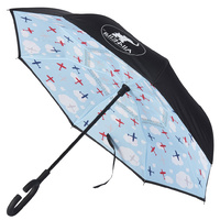 Children's Inside Out Inverted Umbrella Aeroplane