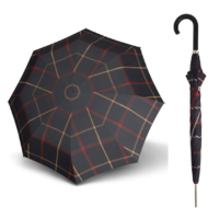 Doppler Carbonsteel Umbrella Woven Check Fünfzehn