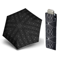 Doppler Carbonsteel Mini Slim Paris Umbrella Black