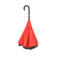 Doppler Crazy Inverted Umbrella Red
