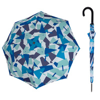 Doppler Fiber Automatic Crush Umbrella Blue - UV