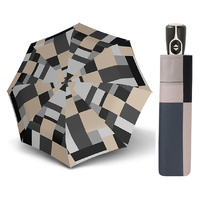 Doppler Fiber Magic Havanna Mosaic Umbrella Taupe