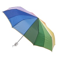 Compact Folding Rainbow Umbrella