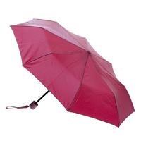 Mini Maxi Manual Umbrella Burgundy
