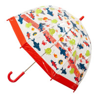 Children's Clear Birdcage Umbrella Fish