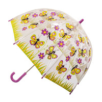 Children's Clear Umbrella Butterfly