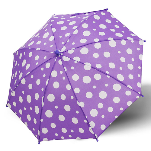 Derby Maxi Dot Umbrella Purple